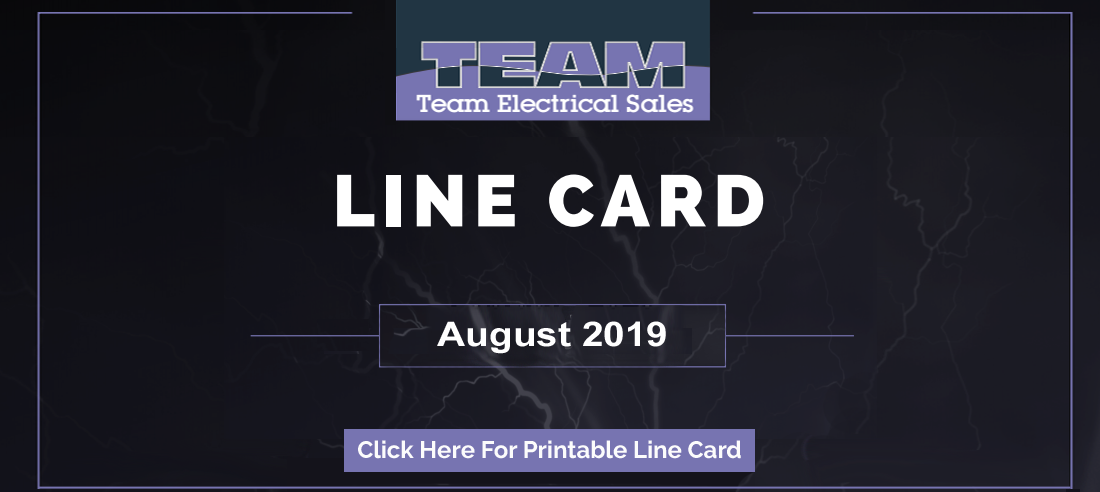 Team Electrical Line Card