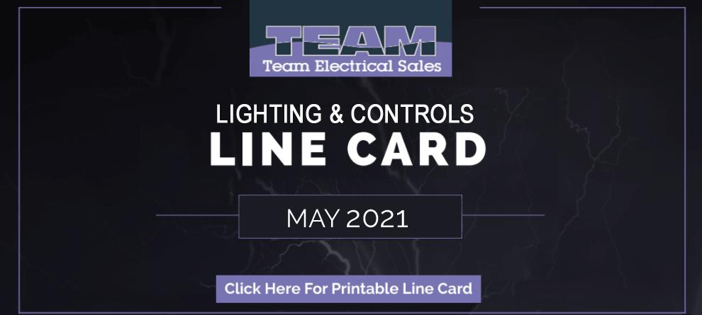 Team Electrical Line Card